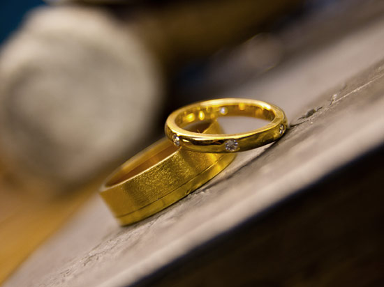 Goldfinger Rings Workshop in Hatton Garden London